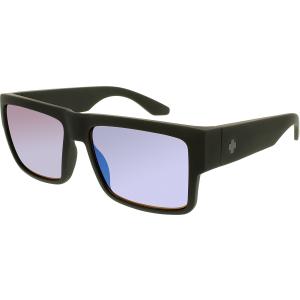 Spy Men's Cyrus 673180973821 Black Square Sunglasses