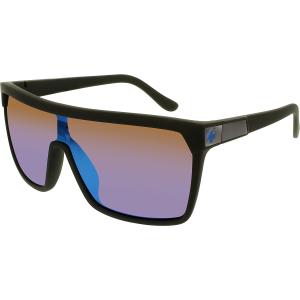 Spy Men's Mirrored Flynn 670323973317 Black Shield Sunglasses