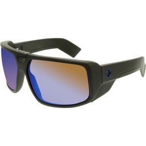 Spy Men's Touring 670795374281 Blue Square Sunglasses