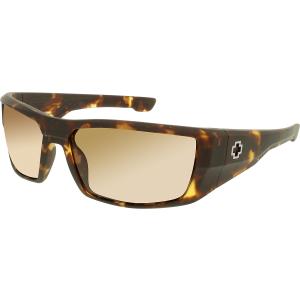 Spy Men's Dirk 672052995865 Bronze Wrap Sunglasses