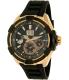 Seiko Men's SNP104 Black Silicone Seiko Kinetic Watch - Main Image Swatch