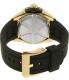 Seiko Men's SNP104 Black Silicone Seiko Kinetic Watch - Back Image Swatch
