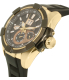 Seiko Men's SNP104 Black Silicone Seiko Kinetic Watch - Side Image Swatch