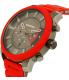 Diesel Men's Stronghold DZ4384 Red Resin Quartz Watch - Side Image Swatch