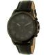 Fossil Men's Grant FS5147SET Black Leather Quartz Watch - Main Image Swatch