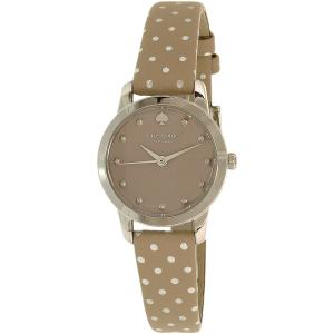 Kate Spade Women's Metro 1YRU0891A Brown Leather Quartz Watch