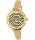 Kate Spade Women's Metro KSW1031 Gold Leather Quartz Watch - Main Image Swatch