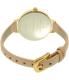 Kate Spade Women's Metro KSW1031 Gold Leather Quartz Watch - Back Image Swatch