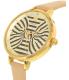 Kate Spade Women's Metro KSW1031 Gold Leather Quartz Watch - Side Image Swatch