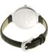 Kate Spade Women's Metro KSW1032 Black Leather Quartz Watch - Back Image Swatch