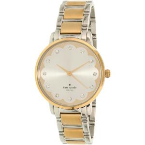 Kate Spade Women's Gramercy KSW1045 Silver Stainless-Steel Quartz Watch