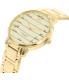 Kate Spade Women's Metro KSW1060 Gold Stainless-Steel Quartz Watch - Side Image Swatch