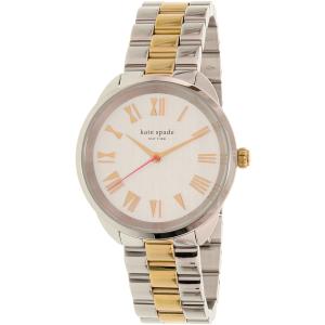 Kate Spade Women's Crosstown KSW1062 Silver Stainless-Steel Quartz Watch
