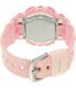 Casio Women's Baby-G BA110CA-4A Pink Plastic Quartz Watch - Back Image Swatch