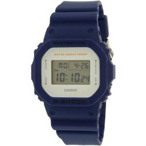 Casio Men's G-Shock DW5600M-2 Blue Plastic Quartz Watch