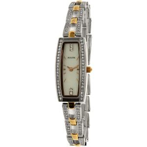 Bulova Women's 98X110 Silver Stainless-Steel Quartz Watch