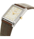 Citizen Women's Eco-Drive EP5914-07A Silver Leather Eco-Drive Watch - Side Image Swatch