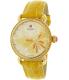 Michele Women's Garden Party MWW05D000015 Yellow Alligator Leather Swiss Quartz Watch - Main Image Swatch