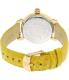 Michele Women's Garden Party MWW05D000015 Yellow Alligator Leather Swiss Quartz Watch - Back Image Swatch