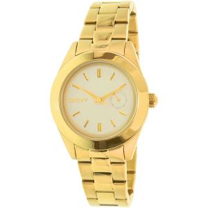 Dkny Women's Jitney NY2132 Gold Stainless-Steel Quartz Watch