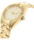 Dkny Women's Jitney NY2132 Gold Stainless-Steel Quartz Watch - Side Image Swatch