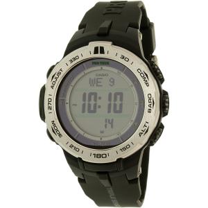 Casio Men's Pro Trek PRW3100-1 Black Resin Quartz Watch