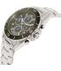 Michael Kors Men's Jetmaster MK8462 Silver Stainless-Steel Quartz Watch - Side Image Swatch