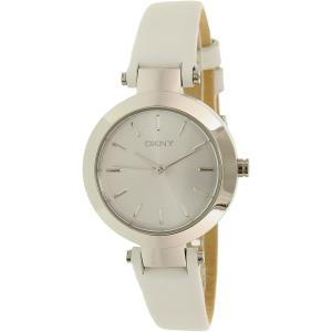 Dkny Women's Stanhope NY2403 Silver Leather Quartz Watch