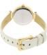 Dkny Women's Stanhope NY2404 Gold Leather Quartz Watch - Back Image Swatch