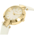 Dkny Women's Stanhope NY2404 Gold Leather Quartz Watch - Side Image Swatch