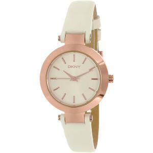 Dkny Women's Stanhope NY2405 Rose Gold Leather Quartz Watch