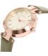 Dkny Women's Stanhope NY2408 Rose Gold Leather Quartz Watch - Side Image Swatch