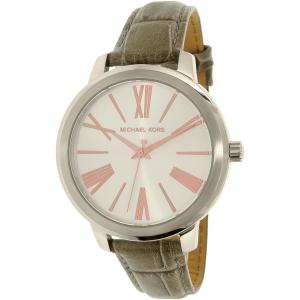Michael Kors Women's Hartman MK2479 Grey Leather Quartz Watch