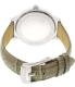 Michael Kors Women's Hartman MK2479 Grey Leather Quartz Watch - Back Image Swatch