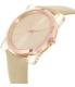 Michael Kors Women's Kempton MK2486 Rose Gold Leather Quartz Watch - Side Image Swatch