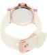 Michael Kors Women's Dylan MK2491 White Silicone Quartz Watch - Back Image Swatch