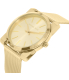 Michael Kors Women's Kempton MK3496 Gold Stainless-Steel Quartz Watch - Side Image Swatch
