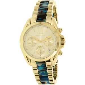 Michael Kors Women's Bradshaw MK6318 Gold Stainless-Steel Quartz Watch