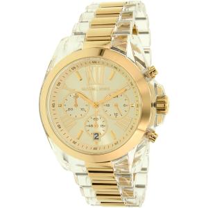 Michael Kors Women's Bradshaw MK6319 Gold Plastic Quartz Watch