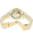 Michael Kors Women's Bradshaw MK6319 Gold Plastic Quartz Watch - Back Image Swatch