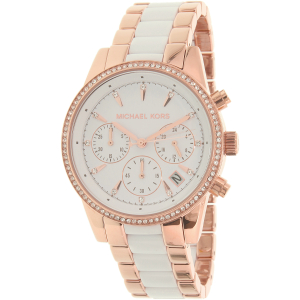 Michael Kors Women's Ritz MK6324 Rose Gold Stainless-Steel Quartz Watch
