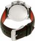 Michael Kors Men's Caine MK8475 Black Leather Quartz Watch - Back Image Swatch