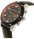 Michael Kors Men's Caine MK8475 Black Leather Quartz Watch - Side Image Swatch