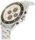 Michael Kors Men's Jetmaster MK8476 Silver Stainless-Steel Quartz Watch - Side Image Swatch