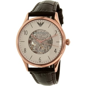 Emporio Armani Men's AR1920 Brown Leather Automatic Watch