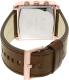 Armani Exchange Men's AX2225 Rose Gold Leather Quartz Watch - Back Image Swatch