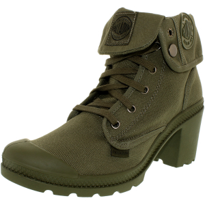 Palladium Women's Baggy Heel Canvas Ankle-High Fabric Boot
