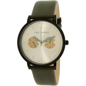 Ted Baker Men's 10009273 Grey Leather Quartz Watch