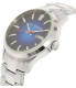 Ted Baker Men's 10023467 Silver Stainless-Steel Quartz Watch - Side Image Swatch