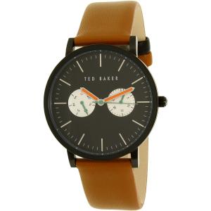Ted Baker Men's 10024530 Brown Leather Quartz Watch